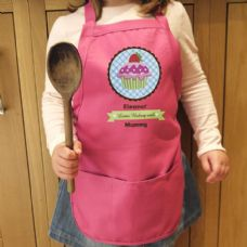 Strawberry Cupcake Childs Apron